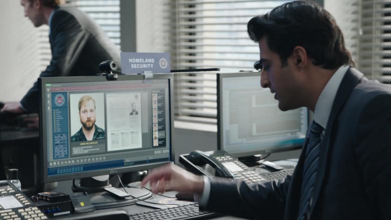 Dell Monitors in FBI S03E01 Never Trust a Stranger (2020)
