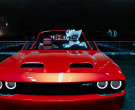 Dodge Challenger SRT Red Muscle Car in 'Holiday' by Lil Nas ...