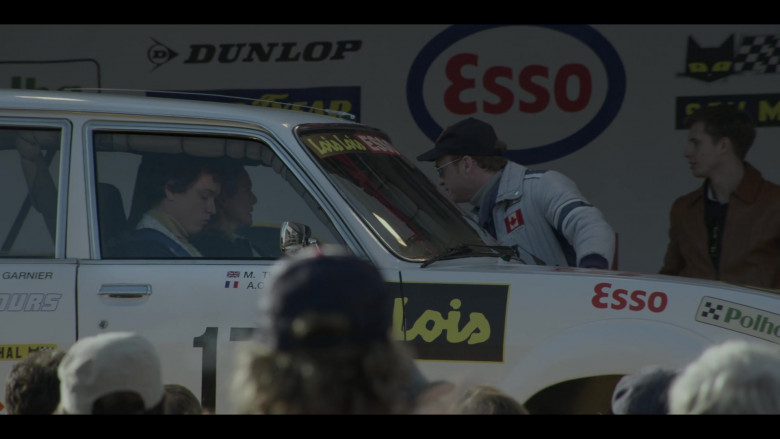 Dunlop, Esso, Lois Jeans in The Crown S04E04 Favourites (2020)