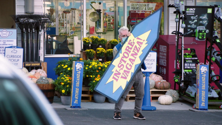 EGO POWER+ in Superstore S06E04 Prize Wheel (2020)