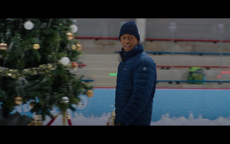 Eddie Bauer Down Jacket of Burl Moseley as Eric in Happiest Season (2)