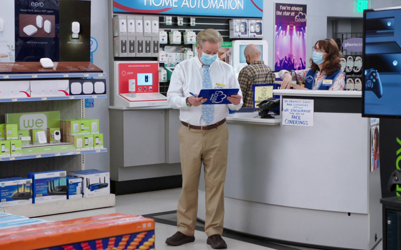 Eero, Linksys, Piper NV, Xbox in Superstore S06E03 Floor Supervisor (2020)