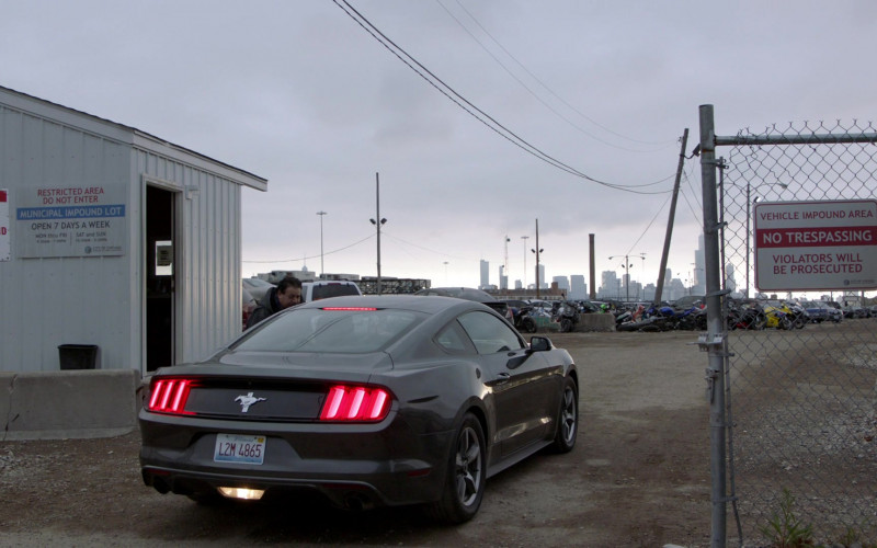 Ford Mustang Car of Taylor Kinney as Lieutenant Kelly Severide in Chicago Fire S09E02 TV Show (1)