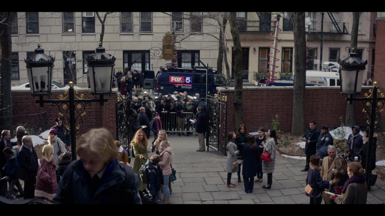 Fox 5 New York Television Channel in The Undoing Episode 2 The Missing (2020)