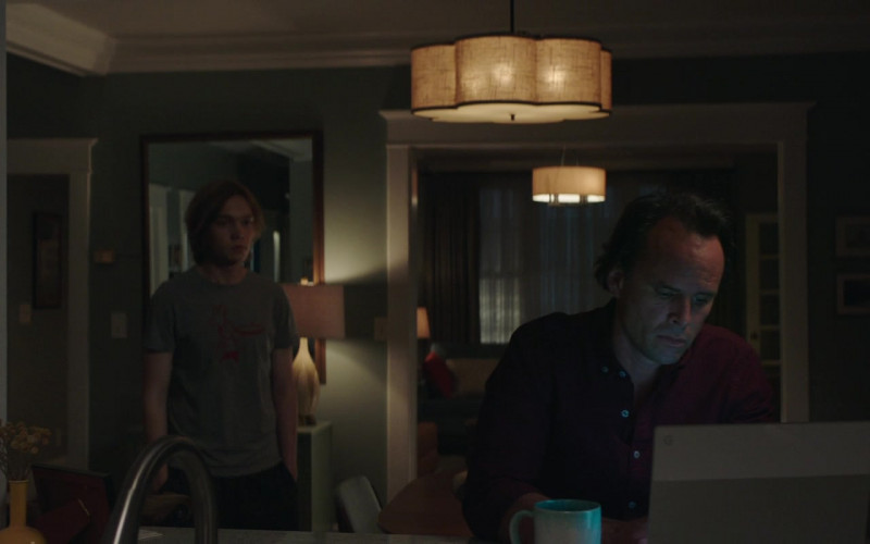 Google Chromebook Laptop of Walton Goggins as Paul in Words on Bathroom Walls Movie (1)