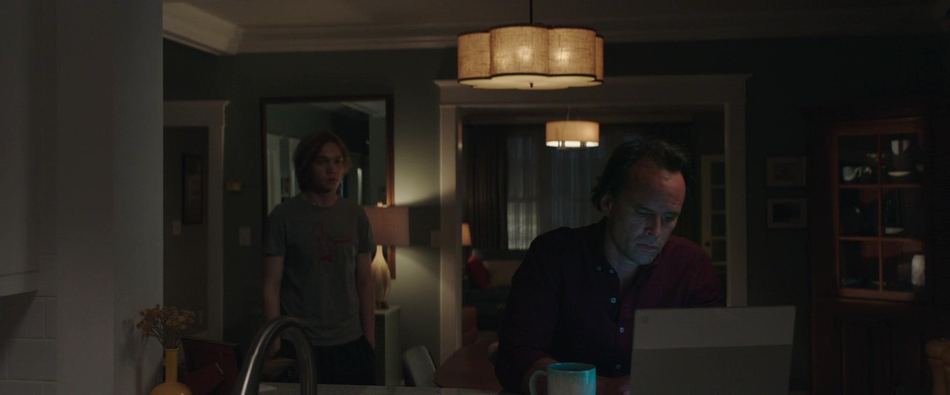 Google Chromebook Laptop Of Walton Goggins As Paul In Words On Bathroom  Walls (2020)