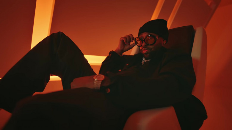 "Gucci Glasses of Mike WiLL Made-It in ""What That Speed Bout!"" Music Video (1)"