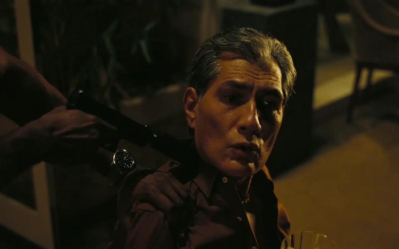 Hamilton Jazzmaster Seaview Chrono Quartz Watch of John David Washington as the Protagonist in Tenet Movie (1)