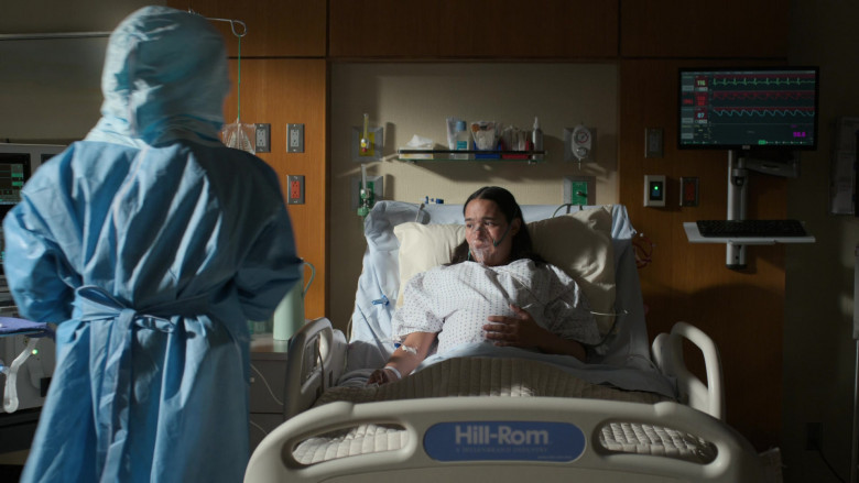 """Hill-Rom Bed in The Good Doctor S04E01 """"Frontline Part 1"""" (2020)"""