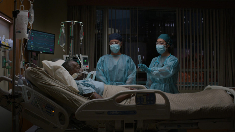 Hill-Rom Medical Bed in The Good Doctor S04E02 Frontline Part 2 (2020)