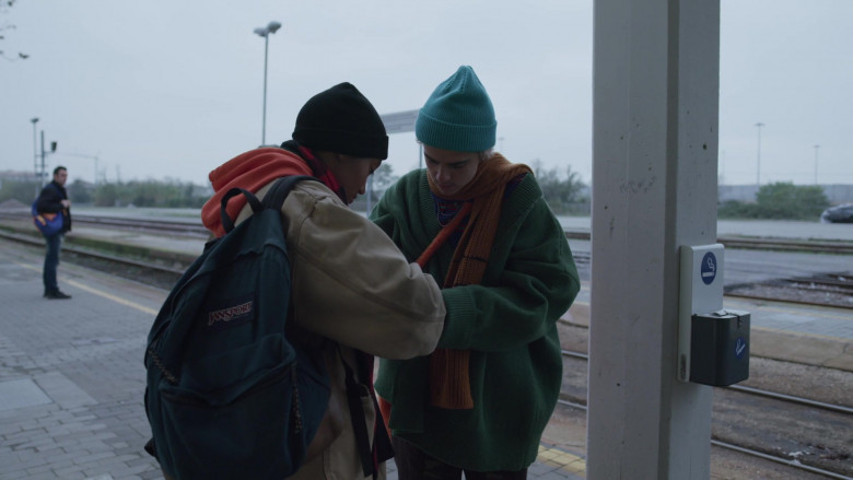 JanSport Backpack of Jordan Kristine Seamón in We Are Who We Are S01E08 (1)