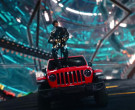 Jeep Gladiator Rubicon Red Pickup Car in 'Holiday' by Lil Na...