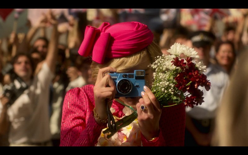 Konica Camera Used by Emma Corrin as Diana, Princess of Wales in The Crown S04E06 Terra Nullius (2020)