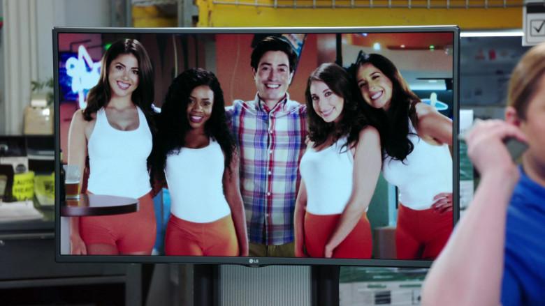 LG TV in Superstore S06E03 Floor Supervisor (2020)