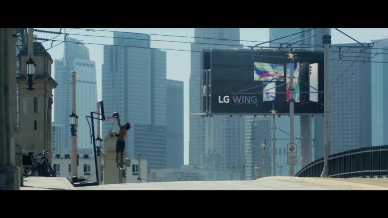 LG Wing Billboards in Songbird 2021 Movie (2)