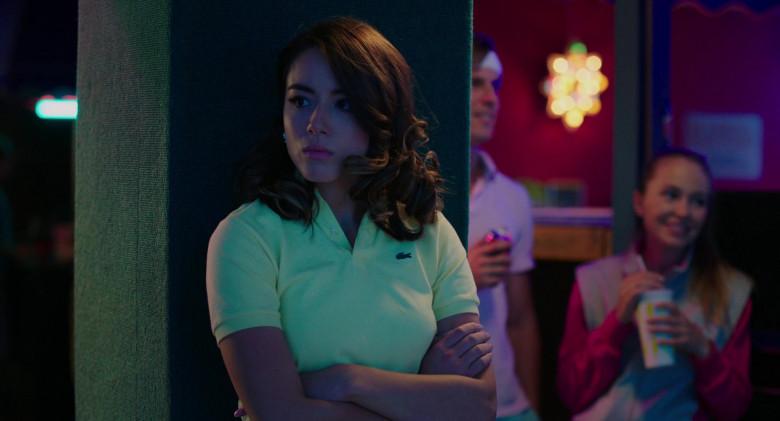 Lacoste Polo Shirt of Chloe Bennet as Karen in Valley Girl (2020)
