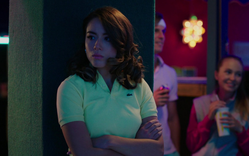 Lacoste Polo Shirt of Chloe Bennet as Karen in Valley Girl (2020)