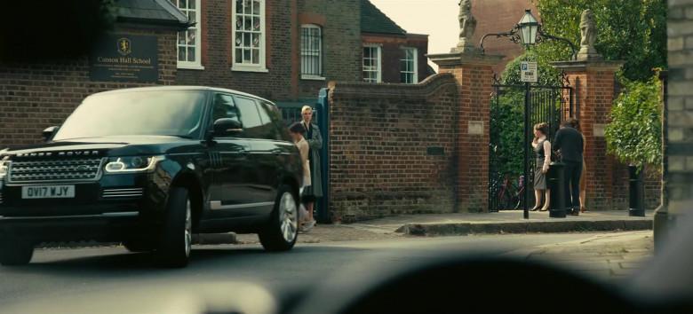 Land Rover Range Rover Vogue Black Car in Tenet Movie (1)