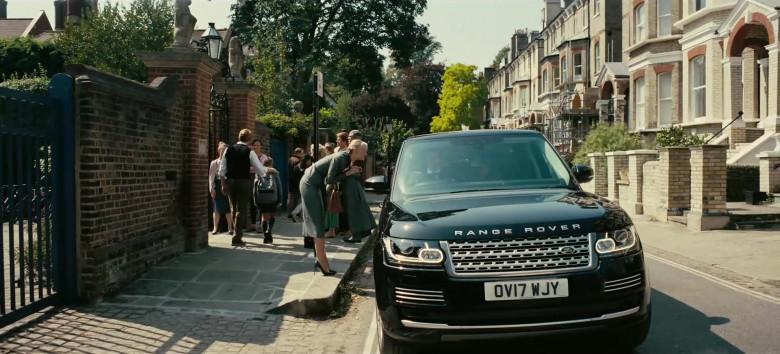 Land Rover Range Rover Vogue Black Car in Tenet Movie (2)