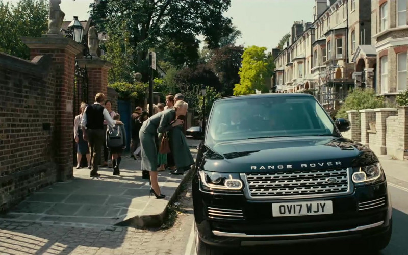 Land Rover Range Rover Vogue Black Car in Tenet Movie (2)