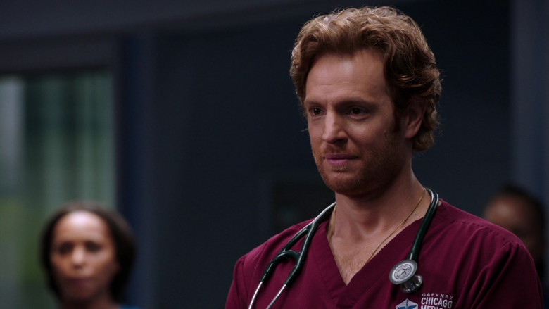 Littmann Stethoscope Used by Nick Gehlfuss as Dr. Will Halstead in Chicago Med S06E02 TV Series (1)