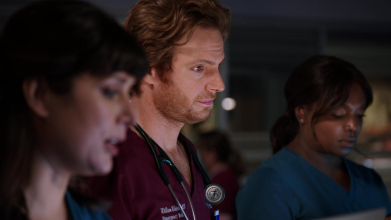 Littmann Stethoscope Used by Nick Gehlfuss as Dr. Will Halstead in Chicago Med S06E02 TV Series (2)