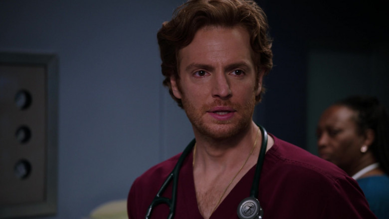 Littmann Stethoscope Used by Nick Gehlfuss as Dr. Will Halstead in Chicago Med S06E02 TV Series (3)