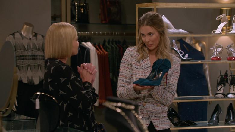 Louboutin Women's Shoes in Mom S08E02 Smitten Kitten and a Tiny Boo-Boo Error (2020)