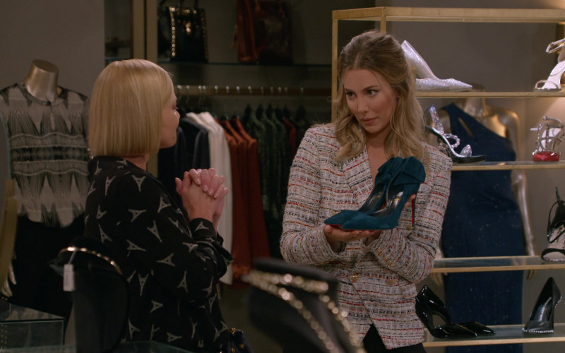 Louboutin Women's Shoes in Mom S08E02 Smitten Kitten and a Tiny Boo-Boo Error (2020)