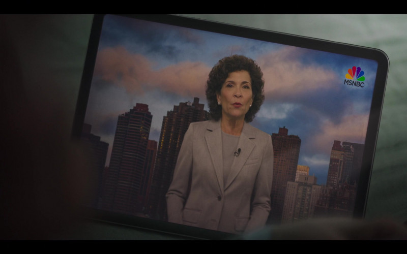 MSNBC TV Channel in The Undoing S01E05 Trial by Fury (2020)
