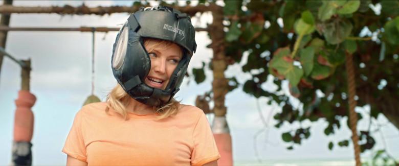 Meister Full-Face Training Head Guard of Malin Åkerman as Anna in Chick Fight Film (2)