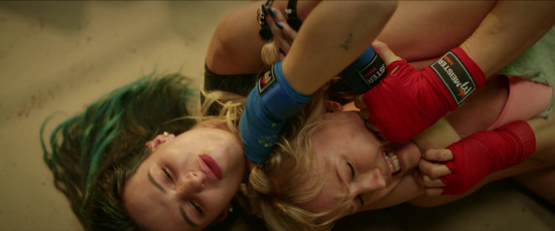 Meister MMA Blue Hand Wraps of Bella Thorne as Olivia in Chick Fight Movie (1)