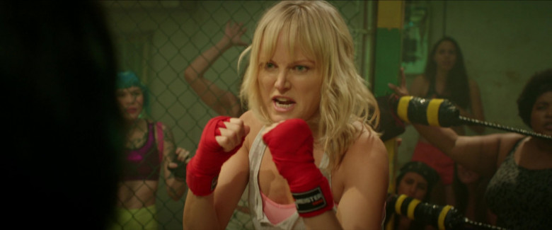 Meister MMA Hand Wraps of Malin Åkerman as Anna in Chick Fight Movie (2)