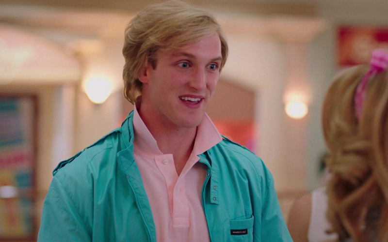 Members Only Jacket of Logan Paul as Mickey Bowen in Valley Girl Movie (2)