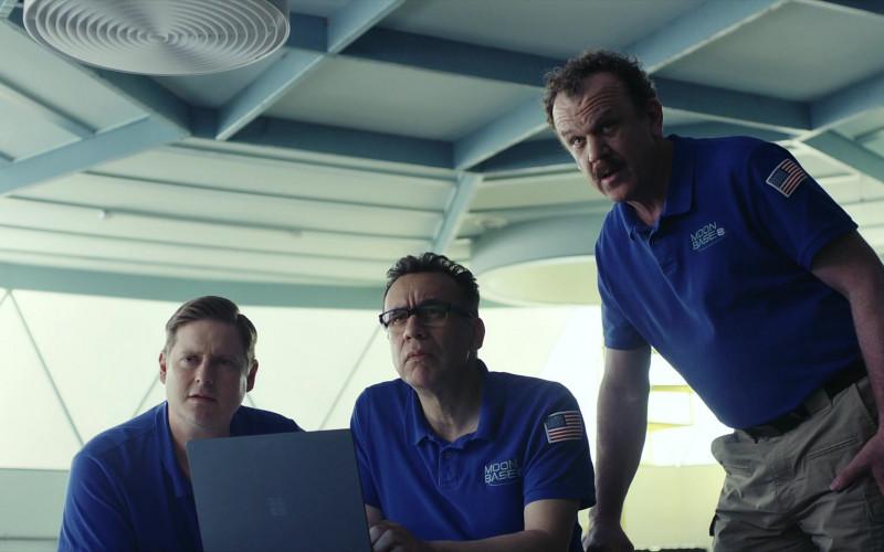 Microsoft Surface Laptop Used by Fred Armisen, Tim Heidecker & John Christopher Reilly in Moonbase 8 S01E06 TV Show