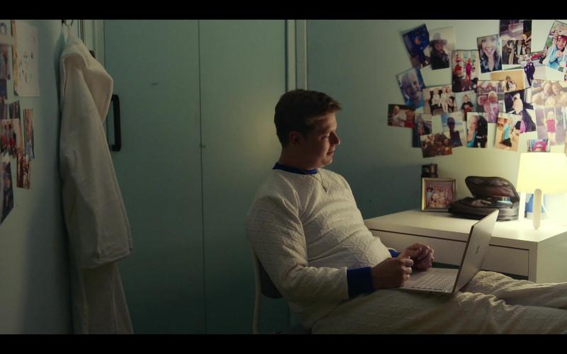 Microsoft Surface Laptop of Tim Heidecker as Professor Scott 'Rook' Sloan in Moonbase 8 S01E02 Rats (2020)