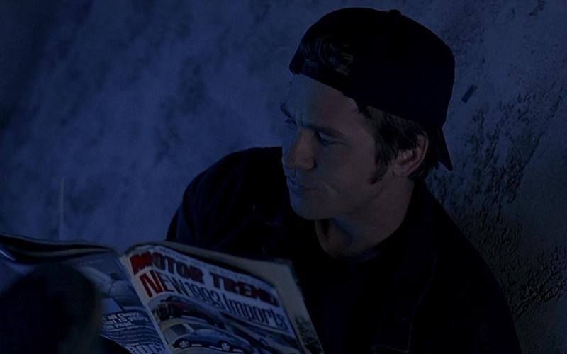 Motor Trend Magazine of Val Kilmer as J.T. Barker in The Real McCoy (1993)