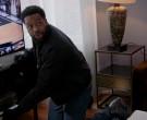 Jordan 9 (Nike) Black Sneakers of LaRoyce Hawkins as Officer...
