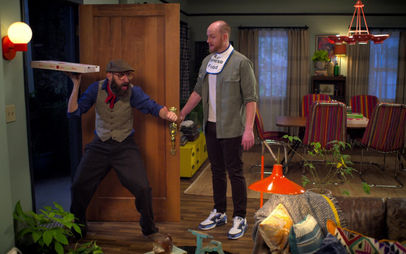 Nike Air Max 90 Multicolor Running Shoes Worn by Broden Kelly in Aunty Donna's Big Ol' House of Fun S01E05 Netvlix TV Show (1)