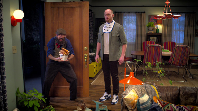 Nike Air Max 90 Multicolor Running Shoes Worn by Broden Kelly in Aunty Donna's Big Ol' House of Fun S01E05 Netvlix TV Show (2)