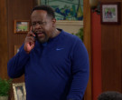 Nike Blue Long Sleeve Top of Cedric the Entertainer as Calvi...