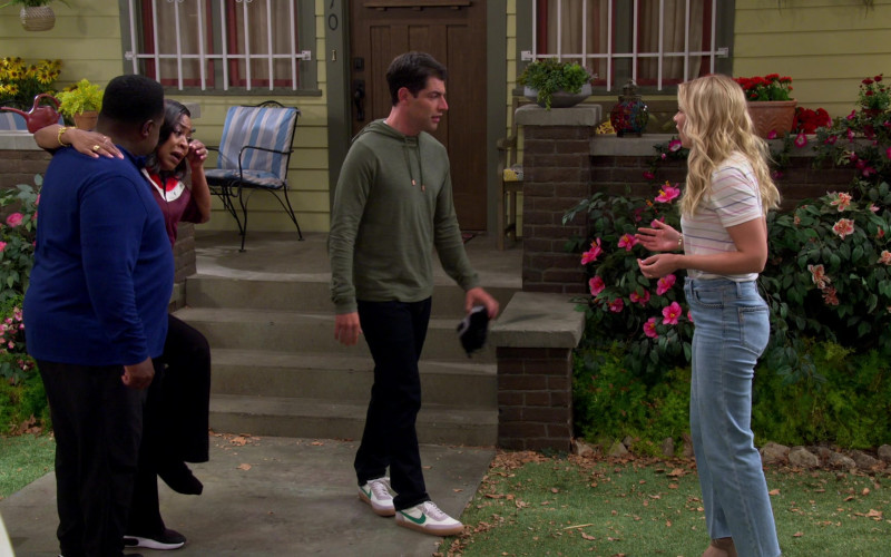 Nike Killshot 2 Shoes of Max Greenfield as Dave in The Neighborhood S03E01 TV Show (1)