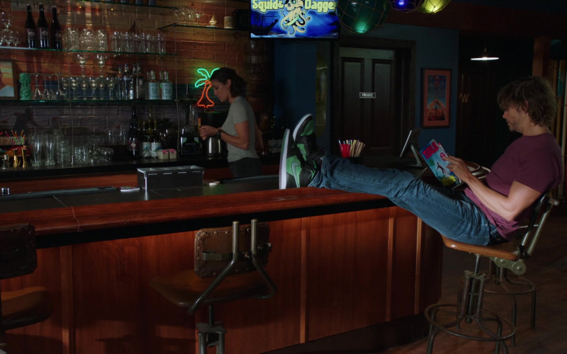 Nike Sneakers of Eric Christian Olsen as Marty Deeks in NCIS Los Angeles S12E01