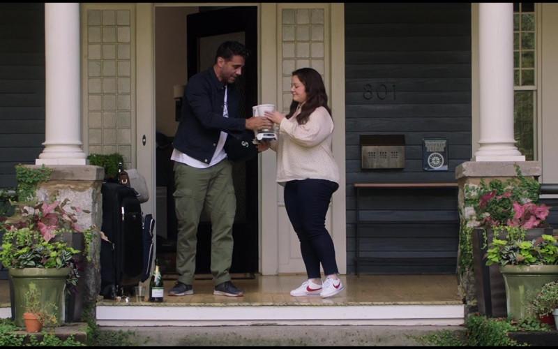 Nike White Shoes of Melissa McCarthy as Carol Peters in Superintelligence (2020)