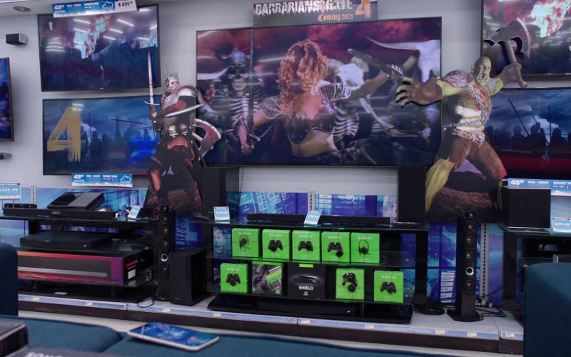 Nvidia Shield in Superstore S06E04 Prize Wheel (2020)