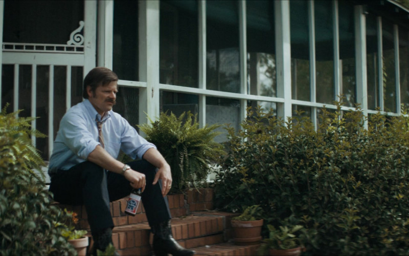 Pabst Beer of Steve Zahn as Mike Bledsoe in Uncle Frank (2020)