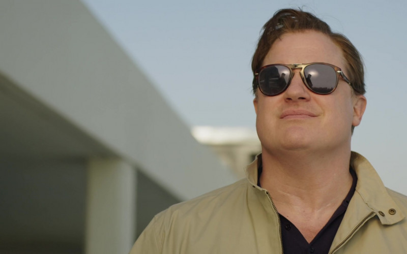 Persol 714 Sunglasses of Brendan Fraser as Peter Swann in Professionals S01E01 (2)