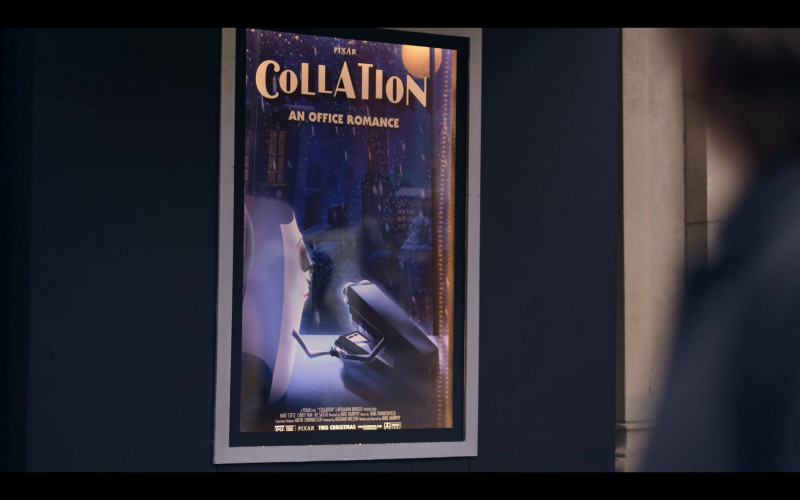Pixar Poster in Dash & Lily S01E07 Christmas (2020)