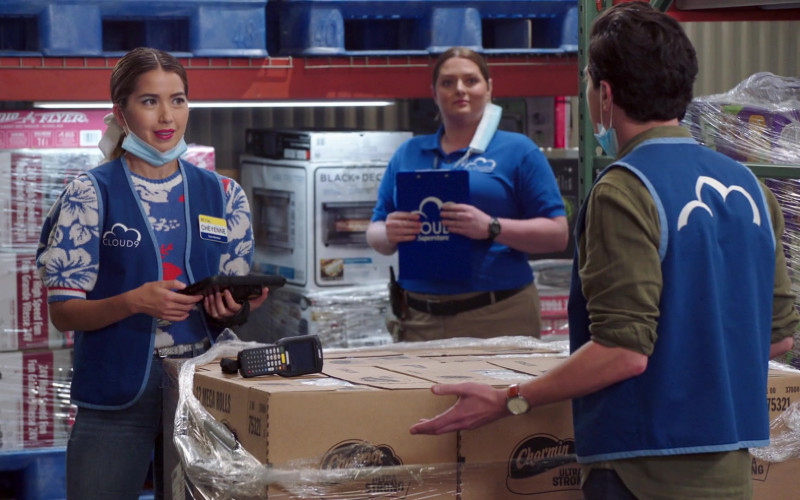 Radio Flyer and Charmin in Superstore S06E03 Floor Supervisor (2020)