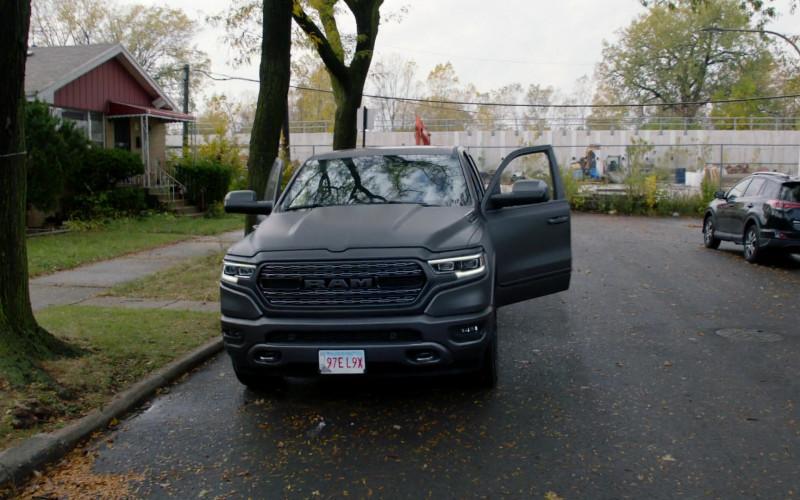 Ram 1500 Pickup Truck of Patrick Flueger as Adam Ruzek in Chicago P.D. S08E02 TV Series (1)